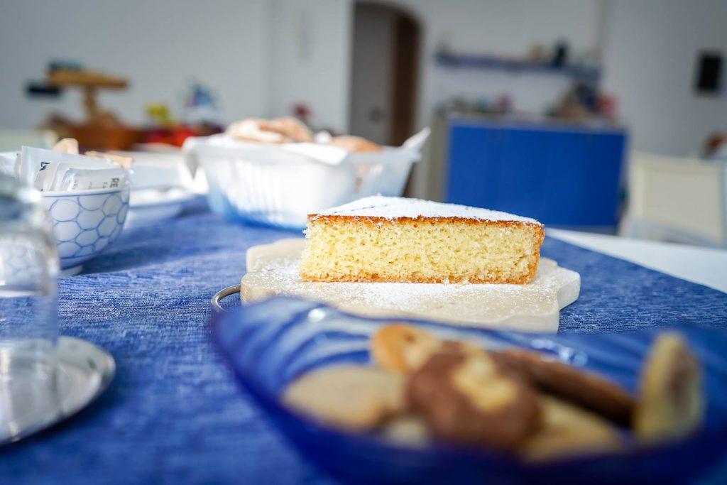 b&b Paradiso Grosio la colazione e le torte fatte in casa